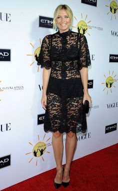 Maria Sharapova in Dolce & Gabbana F/W 13.14