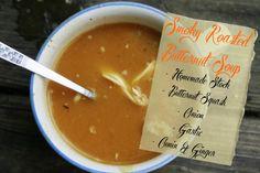 Smoky Roasted Butternut Soup | The Paleo Mama