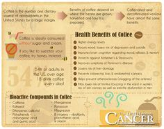 You may have heard some conflicting information about whether coffee is bad or good for you but we're here to tell you there are some great health benefits to it, including fighting cancer. Click through and read more! // The Truth About Cancer