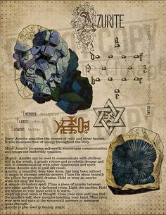 Grimoire Azurite, Book of Shadows Italian Designer Sterling Silver Jewelry Jewelry, is the art of or Magick Spells, Witchcraft, Crystals And Gemstones, Stones And Crystals, Wiccan Spell Book, Herbal Magic, Crystal Magic, Practical Magic, Book Of Shadows