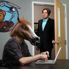 Horse Head Mask - Take My Paycheck - Shut up and take my money! | The coolest gadgets, electronics, geeky stuff, and more!