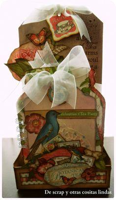 DE SCRAP Y OTRAS COSITAS LINDAS: Qué maravilla... Botanical Tea de la mano de Manol...