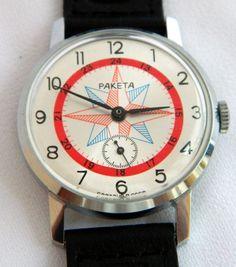 USSR Russian watch RAKETA POLAR
