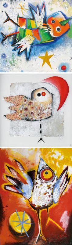 Waarom leven er vogels in mijn werk? Artikel van Ángeles Nieto over het gebruik van vogels in haar kunstwerken.