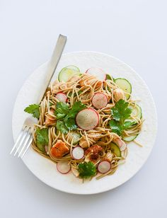 Soba Noodle Salad with Caramelized Chicken and Chili Oil — fast, easy, and flavorful