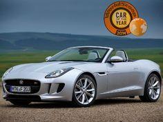Jaguar F-Type : Elue voiture de l'année 2014 par Worldscoop (vidéo)