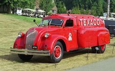 1939 Dodge Airflow Texaco tanker truck. Only a few in the world, including 1 here in New Zealand