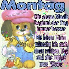 German Language, Winnie The Pooh, Disney Characters, Fictional Characters, Memes, Morning Sayings, Deutsch, New Week, Musik