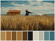 """Slow West"" (2015) •Directed by John Maclean •Cinematography: Robbie Ryan •Production Design: Kim Sinclair •Colorist: Maria Chamberlain, Diana Vasquez"