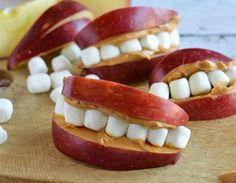 apples, peanut butter, & marshmallows