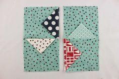 Simple Pinwheel Block Tutorial   Southern Fabric