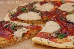Gluten Free Baking, Mozzarella, Vegetable Pizza, Vegetables, Pierogi, Cos, Diet, Vegetable Recipes, Veggies