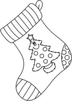 dibujos de elementos y adornos de la navidad