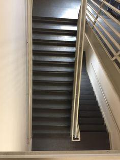 Allstate Rubber Stair Treads. #rubberflooring #stairtreads #stairs  #allstaterubber #materials #