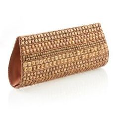 In serious need of a gold clutch.....  Handmade clutch from India.