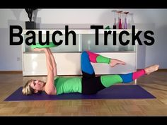 The best tricks for a flat stomach with Gabi Fastner Pilates Workout Videos, Pilates Abs, Pilates Training, Core Workout Routine, Kickboxing Workout, Insanity Workout, Butt Workout, Tabata, Pilates Challenge
