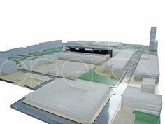 E' stato studiato il rapporto tra l'esistente e gli ex capannoni Incet.