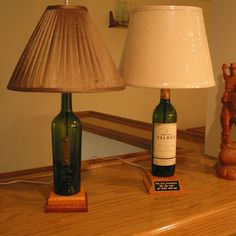 Create a Unique Wine Bottle Lamp in 4 easy steps!