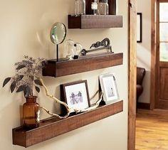 Rustic Wood Ledge   Pottery Barn - $39.00