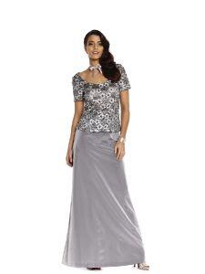 burda style: Damen - Festliche Mode - Abendkleider - Abendkleid - zweiteilig