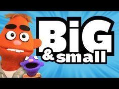 BIG AND SMALL  (Song for Kids ♫)...use for anticipatory set for math lesson on big to small