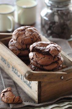 מתוקיםשלי: עוגיות שוקולד פאדג' לפסח