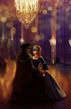 Masquerade // reminds me of the ball scenes in Ella Enchanted. <3 <3 <3 her dress