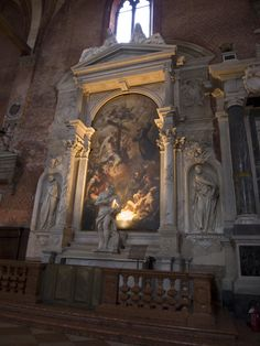 Basilica di Santa Maria Gloriosa dei  Frari - Venice, Italy - Almerigo d'Este Monument
