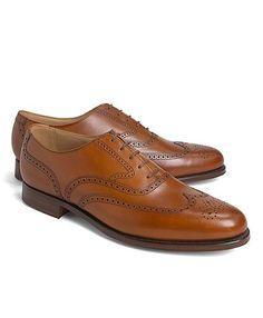Peal & Co. Wingtip Balmorals | Brooks Brothers