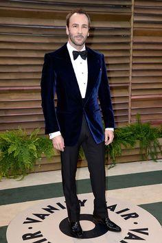 Tom Ford El diseñador Tom Ford, fiel a su pajarita y a una americana velvet.