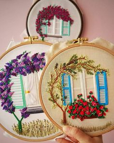 Embroidery Kits, Wreaths, Handmade, Instagram, Office Decorations, Home Decor, Punch, Diys, Art