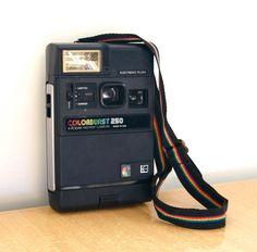 Kodak Colorburst 250 Instant Camera // Vintage. $16.00, via Etsy.