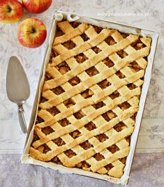Pie Shop, Apple Pie, Cake Recipes, Waffles, Cooking, Breakfast, Easy, Food Cakes, Poland