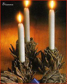 L' Albero di Natale: Centrotavola di carciofi
