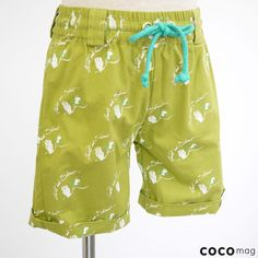 Candy Owl shorts