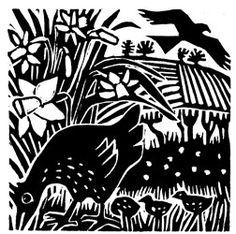 Carry Akroyd - Painter & Printmaker - Atrticles & Publications Graphic Prints, Art Prints, Linoleum Block Printing, Linoprint, Simple Prints, Sgraffito, Wood Engraving, Block Prints, Linocut Prints