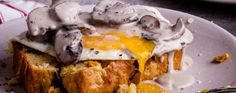 ... com sausage mushrooms and feta baked with eggs kalynskitchen com