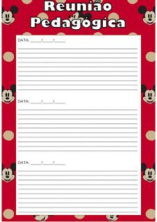Pedagogas da paz: Planner da Minnie 2019 Para uso do Professor Imprimir - Planejamento - Organizador Escolar - Minnie , planner 2019 para imprimir, caderno de planejamento do professor Planner, Mini, Kids Activity Ideas, Literacy Activities, Name Badge Template, Teacher Planner, Index Cards, Classroom, Day Planners
