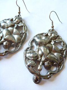 maxi dress christmas earrings