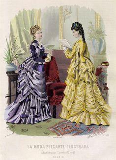 1875. La moda elegante ilustrada, 6 de abril. Nº13.
