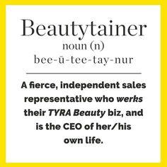 #beautytainer #tyrabeauty  #CEO #entrepreneur www.tyra.com/abundantlybeautiful