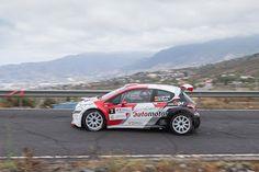 TIEMPO DE DEPORTE: Adrián García y su Peugeot 208 T16 R5 lideran el C...