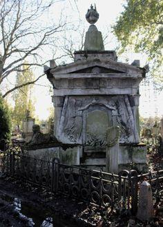 In Kensal Green Cemetery