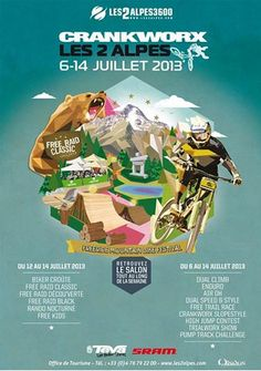Crankworx /// 3rd RD of the Enduro World Series 2013 ( Les 2 Alpes, France )