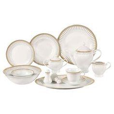 57-Piece Reno Porcelain Dinnerware Set