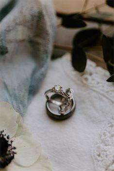 Champagne Wedding Rings, Wedding Ring Box, Wedding Flats, Engagement Ring Photography, Engagement Shots, Winter Engagement, Beach Engagement, Wedding Photography, Country Engagement Pictures