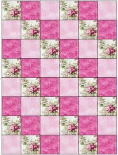 Image result for Easy 3 Fabric Quilt Patterns