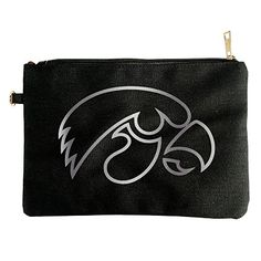 Iowa Hawkeyes Platinum Logo Canvas Pouch Bag ** Read more at the image link. #ClutchHandbags
