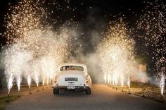 18 Photos That Prove Sparklers Are A Must At Your Wedding