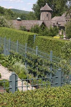boxwood hedges..farm..AJF design